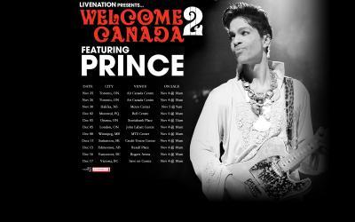 Prince vuelve a Canada