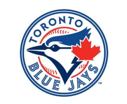 El logotipo español de los Blue Jays