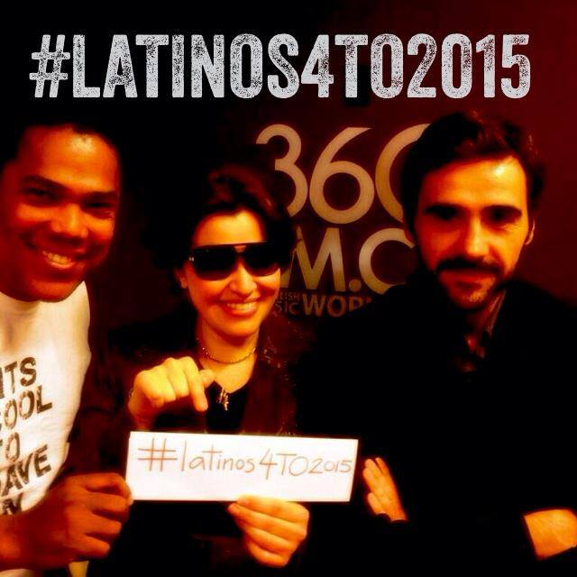 #Latinos4To2015